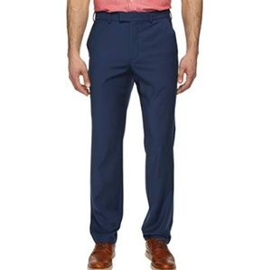 Perry Ellis Pants - Perry Ellis Portfolio Blue Career Chino Pant D1457